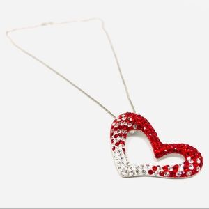 Jewelry - Like 🆕 SWAROVSKI crystals, Sterling necklace